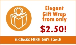 elegant gift wrap include free gift card
